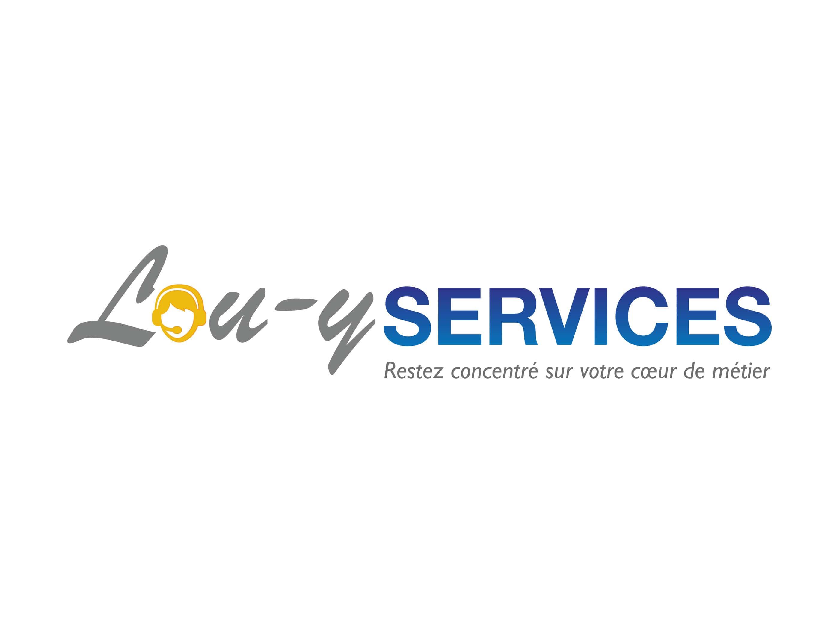 logo lou-yservices réalisé par ismacom