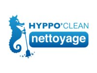 """réalisation logo de la société de ménage """"hyppo'clean"""" par ismacom"""